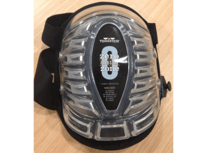 All terrain kneepad that can be used on both rough and delicate surfaces