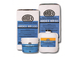 Ardex expands façade restoration range with four render products