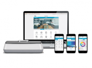 All-in-one connected solution for home security and automation