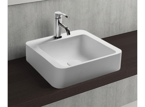 Hotel-style vanity-top basins for home-renovating projects