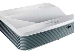 Optoma home theatre projector for use indoors and outdoors