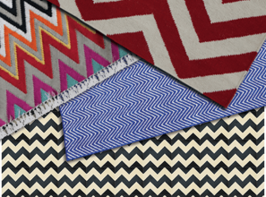 Renovating with a chevron-theme