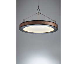 A refined industrial -style pendant by ChristelH Studio