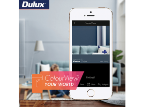Enhanced Dulux Paints app encourages you to be bold with colour choices