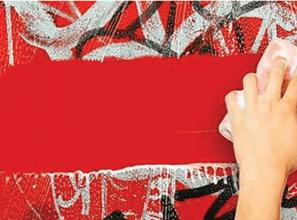 Anti-graffiti film that makes it easier to remove graffiti