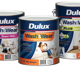 Dulux Wash&Wear interior paint has been improved