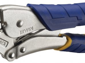 Locking pliers with three times the grip for Tradies