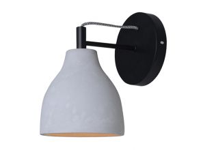 Wall bracket lights are a stylish option for practical mood-lighting
