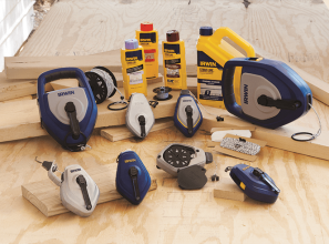 Improved decking tools for Tradies from IRWIN