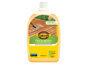 Maintaining a timber deck with Cabot's Deck Wash