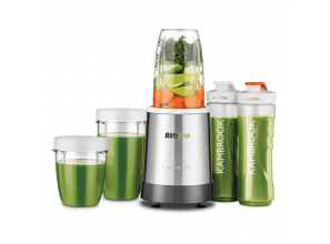 800-watt blender for smoothies and shakes, plus grinding of seeds and coffee beans