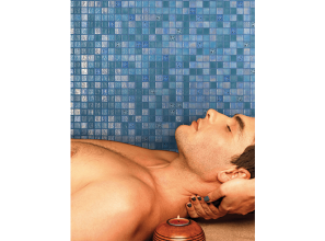 Glass mosaic tiles from Spain for pools, bathrooms and kitchens