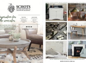 Huge, eclectic range of renovating and decorating products from Schots of Melbourne