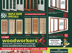 Architectural windows and doors from The Woodworkers Brisbane
