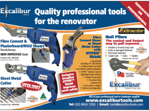 Quality professional tools for the home-renovator