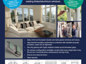 Eco Window System comprising double & triple glazing with thermal-gap technology