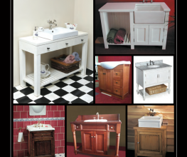 Hand-crafted vanities using the finest materials, tapware and basins