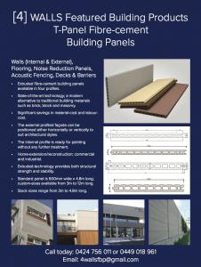 Fibre cement building panels