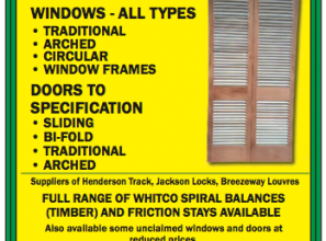 Windows & doors made-to-order