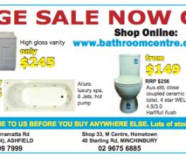 Budget bathroom products