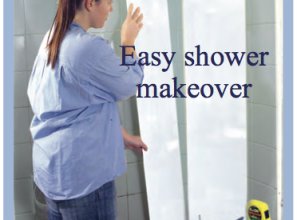 DIY Shower makeover