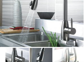 Kitchen & bathroom tapware range