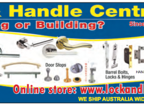 Door hardware available online from Brisbane