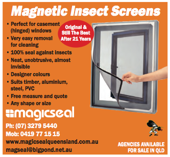 magnetic insect screens that attach to any window