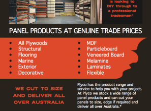 Timber panel products at genuine trade prices