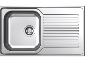 4 stainless steel kitchen-sinks from Clark