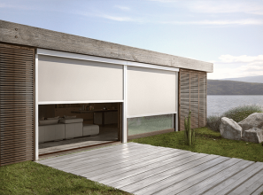 Motorised blinds for al fresco living offer comfort and privacy