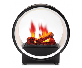 Electric fires with 3D flame technology
