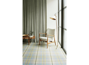 Quality patterned 80% wool carpets from Brintons of England.