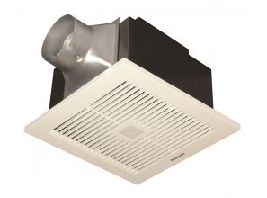 Exhaust fans with DC motor for quieter running and better efficiency