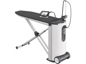 German-engineered steam ironing system from Miele