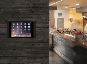 A device to mount iPads and tablets to the wall