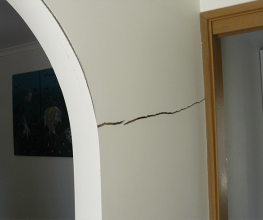 When should you worry about large cracks in your walls?