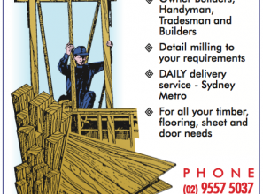 Timber and timber products for Sydney home-renovators and builders