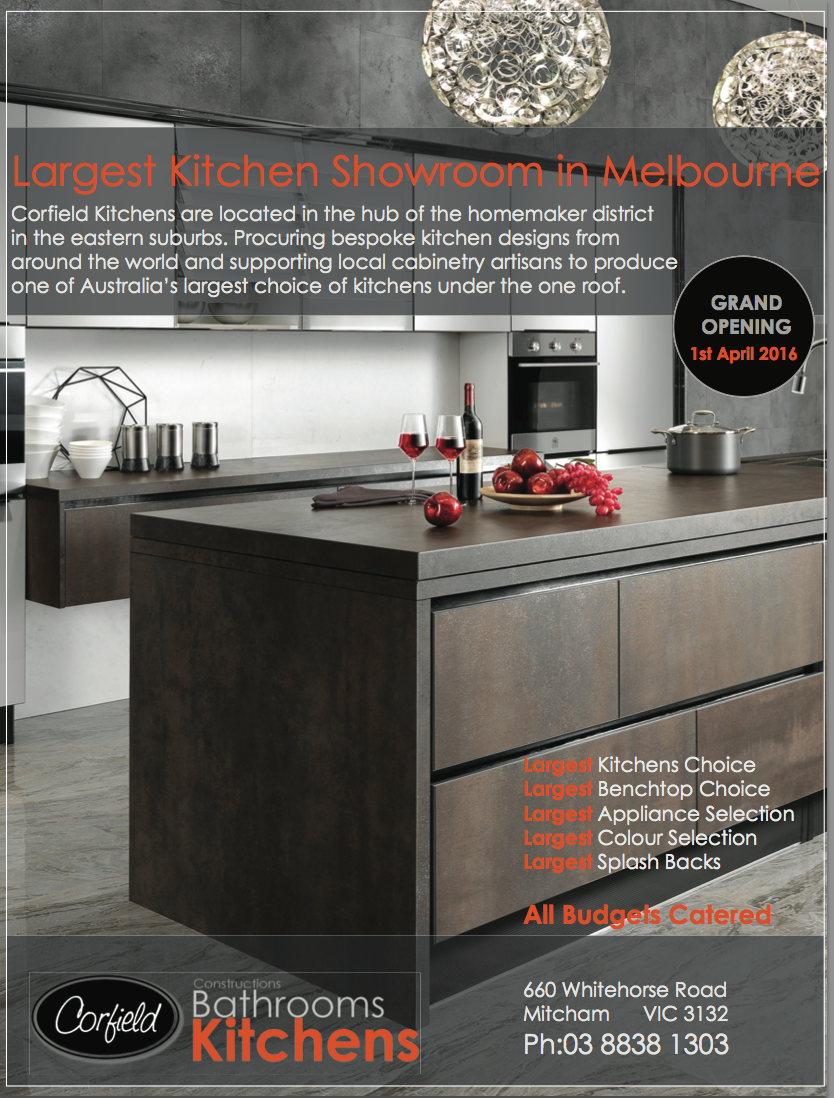 One Of The Largest Kitchen Showrooms In Melbourne
