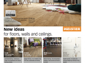 Huge range of timber flooring options from Europe