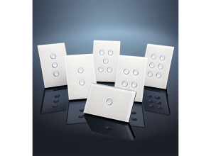 Modern range of stylish switches and dimmers from Clipsal