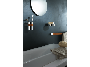 Three bathroom accessory ranges designed by renowned Italian craftsmen
