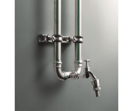 Non-rusting piping system