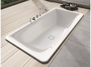 German-made steel-enamel freestanding baths