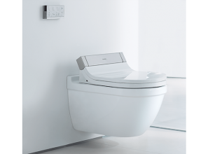 An elegantly designed toilet-bidet combination