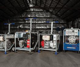 Compact generators from Makinex [7KVA, 9KVA, 10KVA and 16KVA]