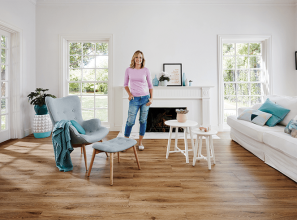 Shelley Craft collaborates with Carpet Court to launch her new signature flooring range