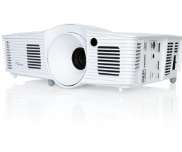 Home theatre projector offering exceptionally sharp picture quality