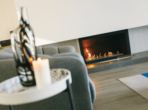 Commercial-style bioethanol fires from Spain