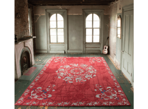 Handmade rugs from Nepal designed by Brooklyn artist Amy Helfand